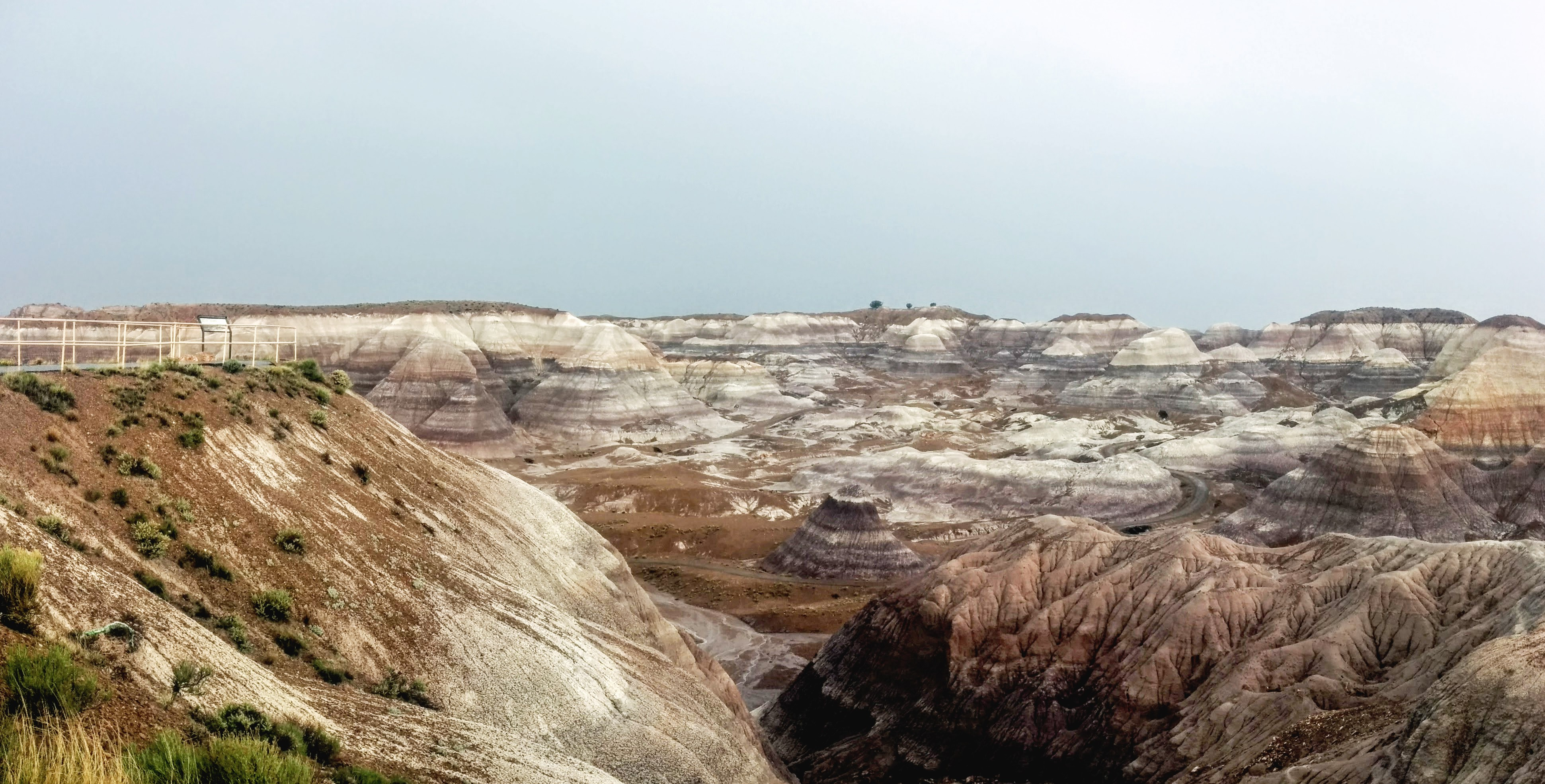 Pano of the Blue Mesa with my Nexus 5